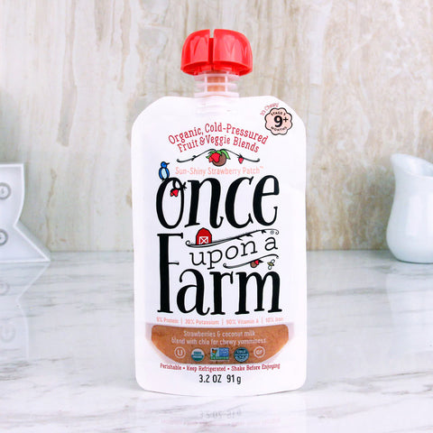 Once Upon A Farm Baby Food Sun-Shiny Strawberry Patch