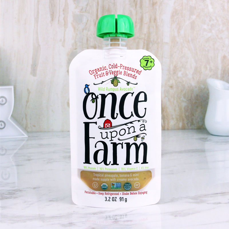 Once Upon A Farm Baby Food Wild Rumpus Avocado