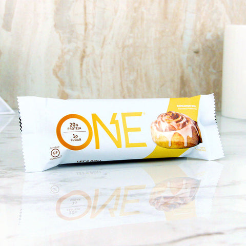 ONE Protein Bar Cinnamon Roll