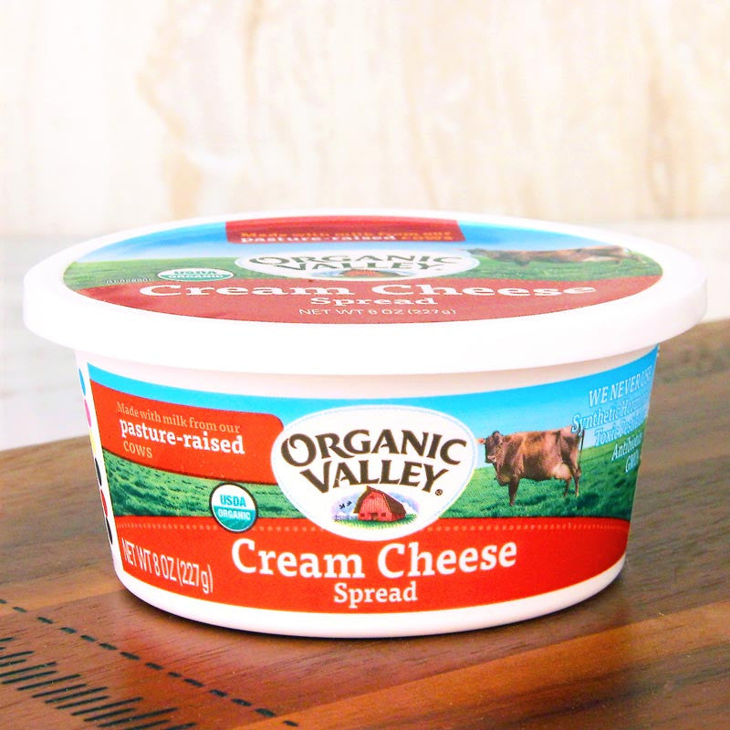 Organic Valley Cream Cheese Spread
