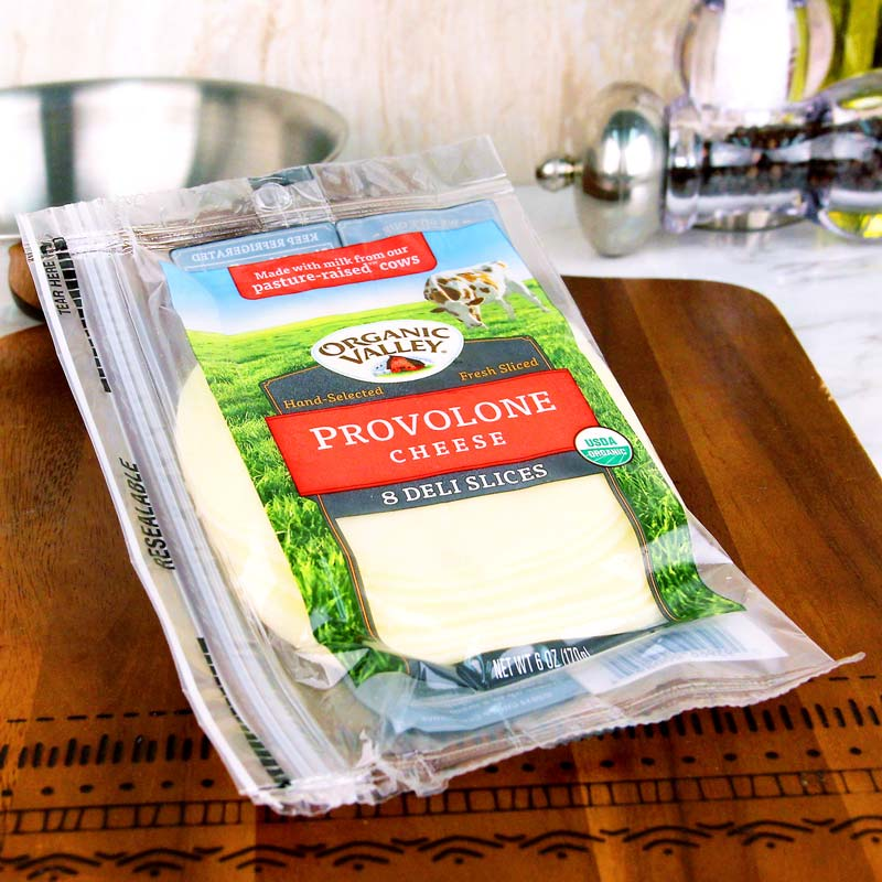 Organic Valley Sliced Provolone Cheese