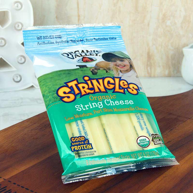 Organic Valley Mozzarella String Cheese
