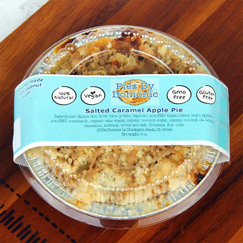 Pies by Domonic Salted Caramel Apple