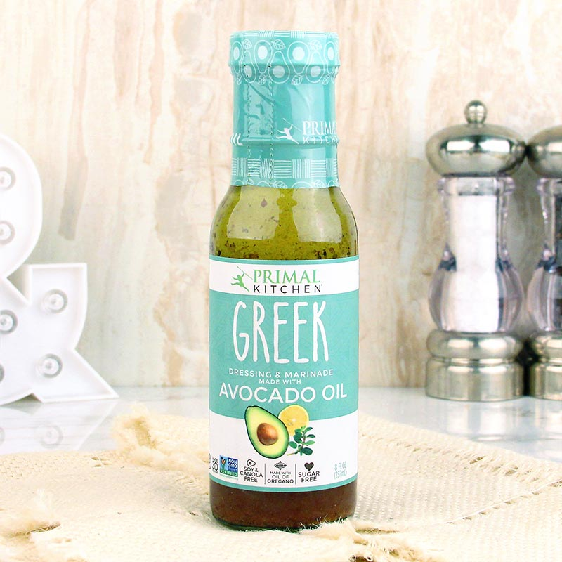 Primal Kitchen Avocado Oil Dressing Greek Vinaigrette