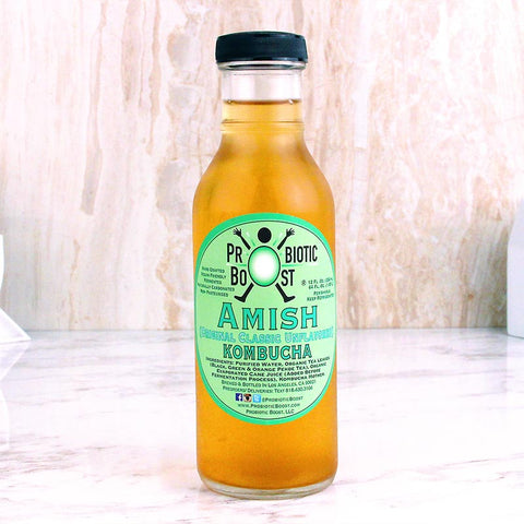 Probiotic Boost Kombucha Amish