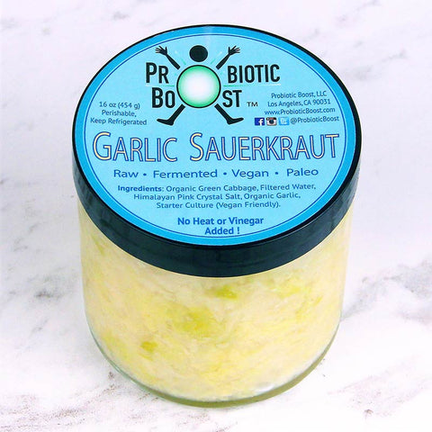 Probiotic Boost Sauerkraut Garlic