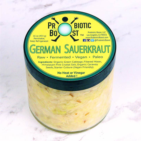 Probiotic Boost Sauerkraut German
