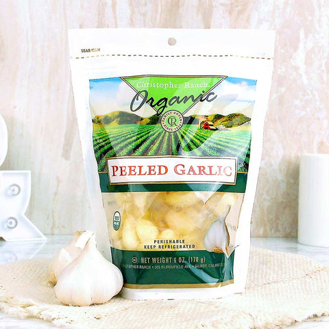 Garlic Peeled Organic