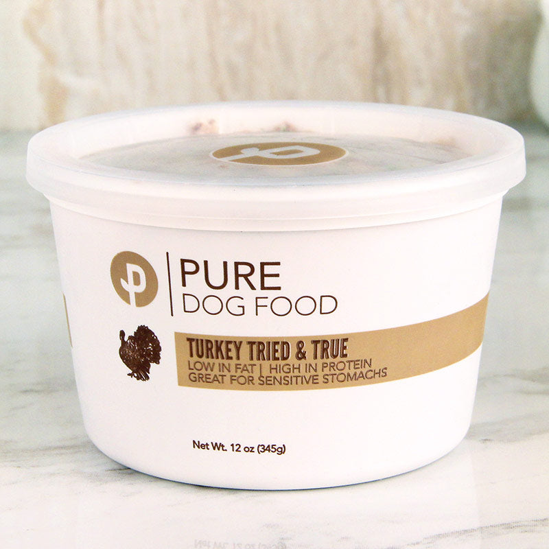 PURE Dog Food Turkey Tried & True