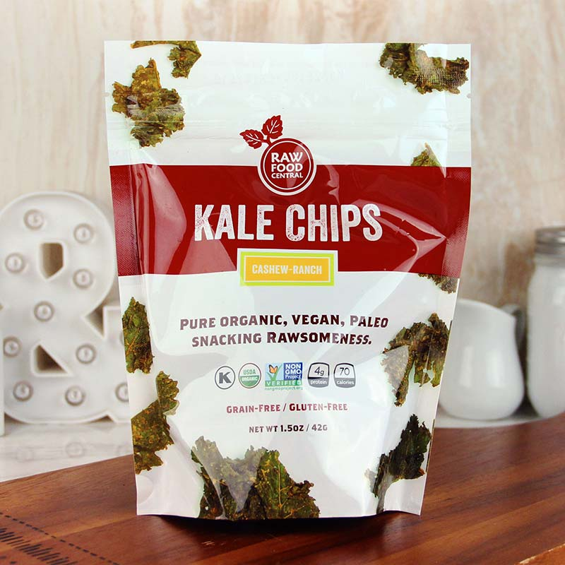 Raw Food Central Curt's Classic Kale Chips