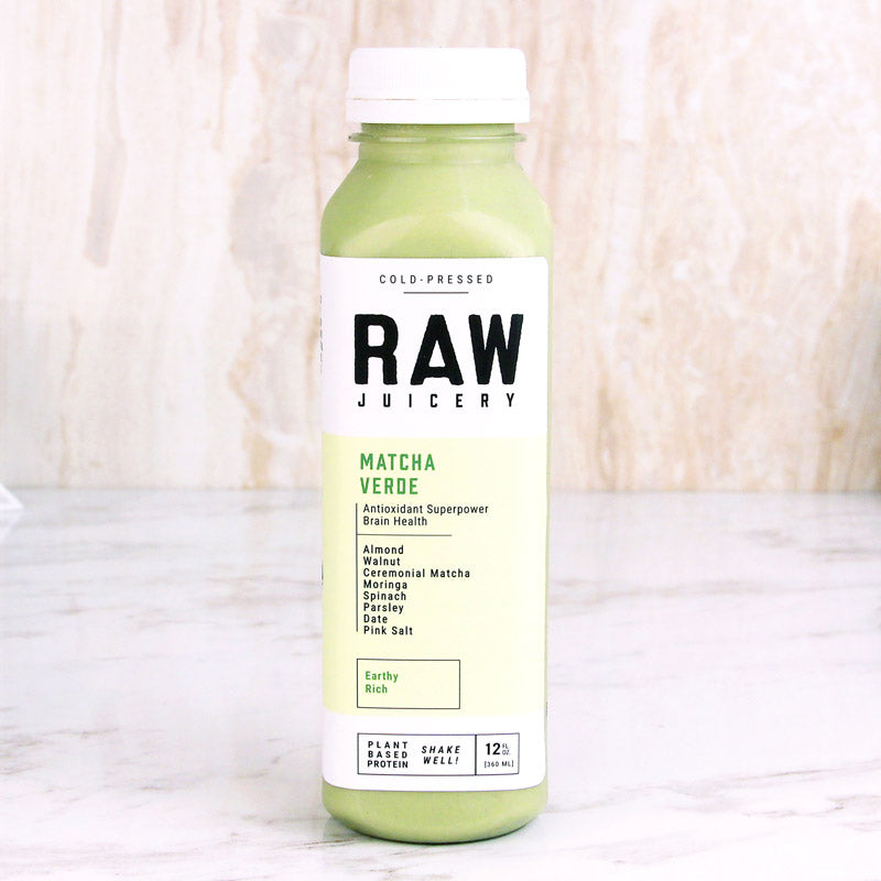 Raw Juicery Matcha Verde