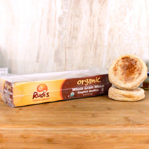 Rudi's Whole Grain Wheat English Muffins 6ct