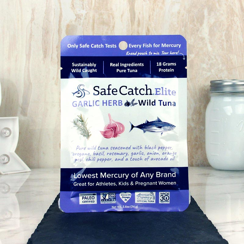 Safe Catch Elite Wild Tuna Garlic Herb