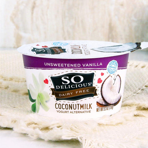 So Delicious Coconut Milk Yogurt Unsweetened Vanilla