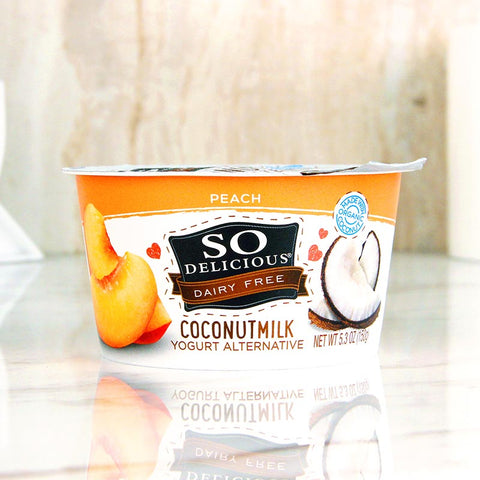 So Delicious Coconut Milk Yogurt Peach