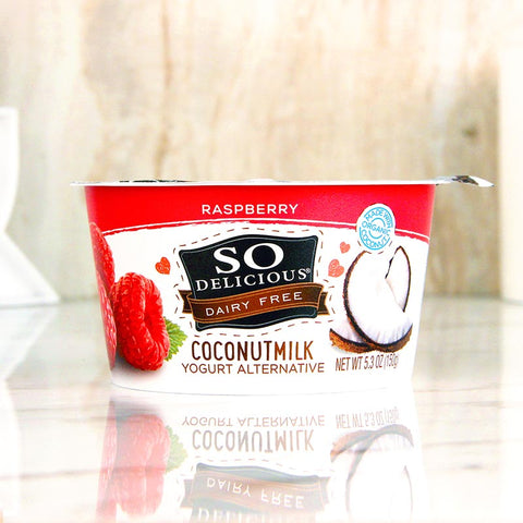 So Delicious Coconut Milk Yogurt Raspberry