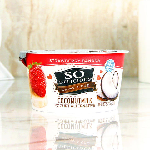 So Delicious Coconut Milk Yogurt Strawberry