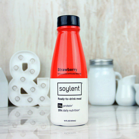 Soylent Meal Drink Strawberry 14oz