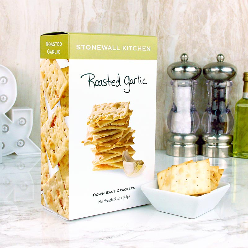 Stonewall Kitchen Crackers Roasted Garlic