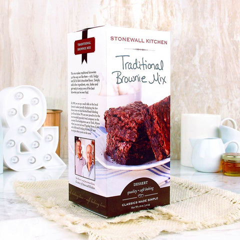 Stonewall Kitchen Mix Traditional Brownie