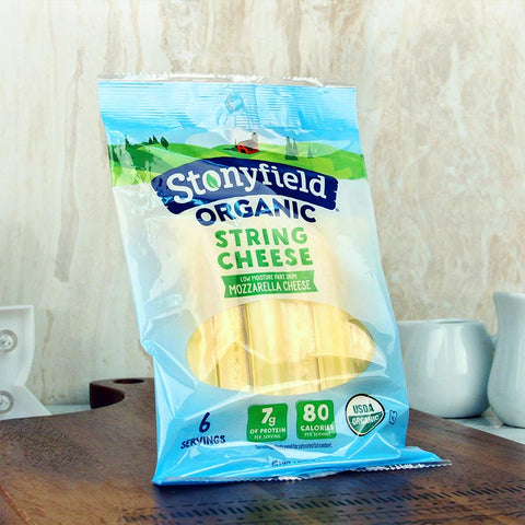 Stonyfield Organic String Cheese