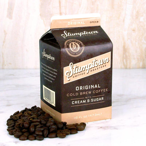 Stumptown Cold Brew Coffee with Milk Original