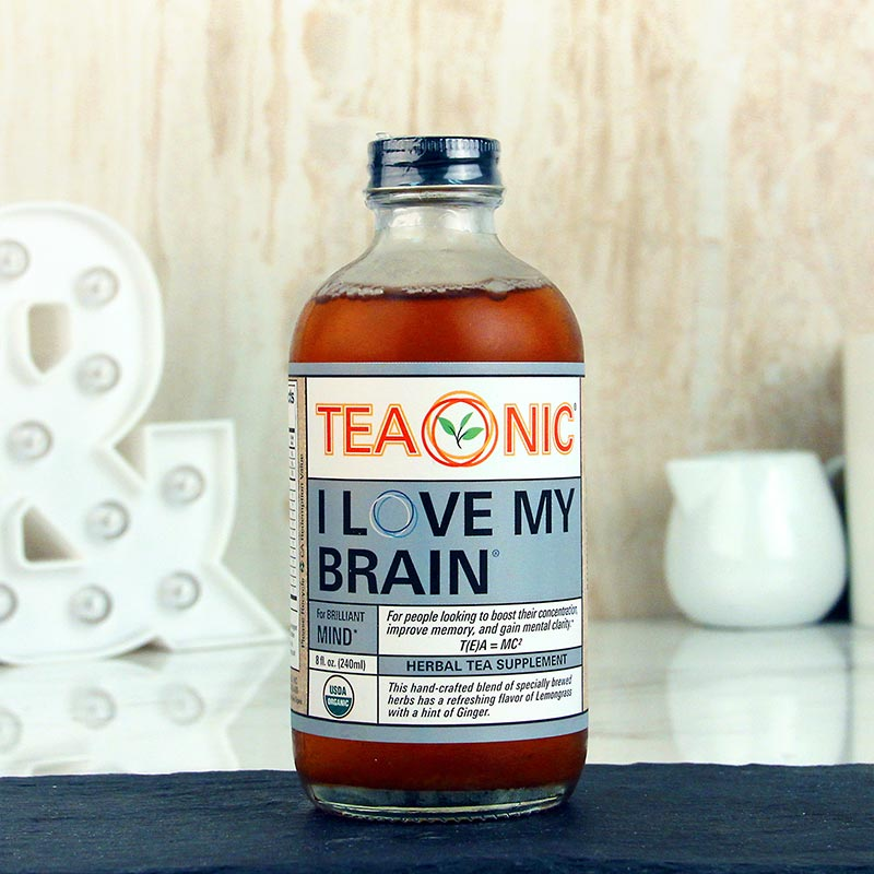 Teaonic Tea I Love My Brain 8 oz