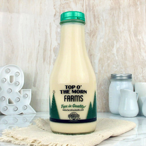 Top O' The Morn Farms Classic Eggnog Quart