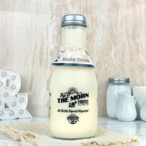Top O' The Morn Farms Heavy Cream Quart