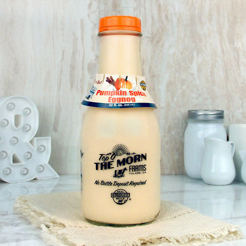 Top O' The Morn Farms Pumpkin Spice Eggnog Quart