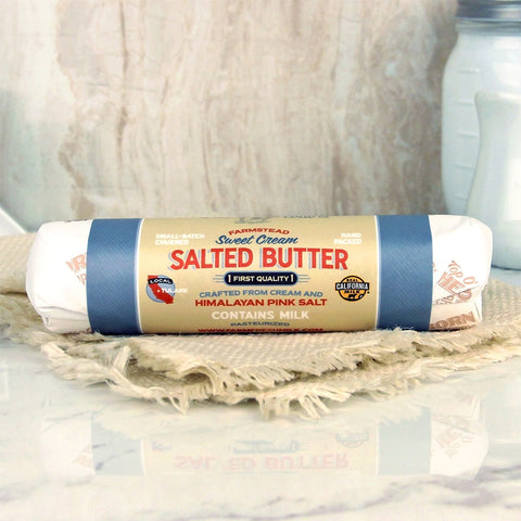 Top O' The Morn Farms Sweet Cream Salted Butter