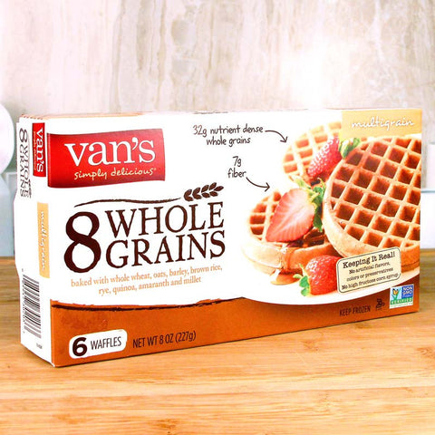 Van's Waffles Whole Grains Multigrain