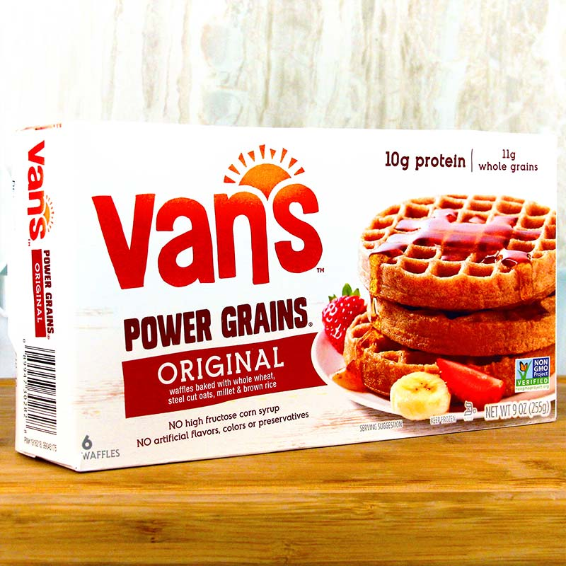 Van's Waffles Power Grains Original