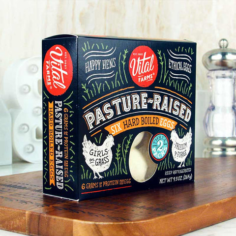 Vital Farms Pasture-Raised Hard Boiled Eggs 6pk