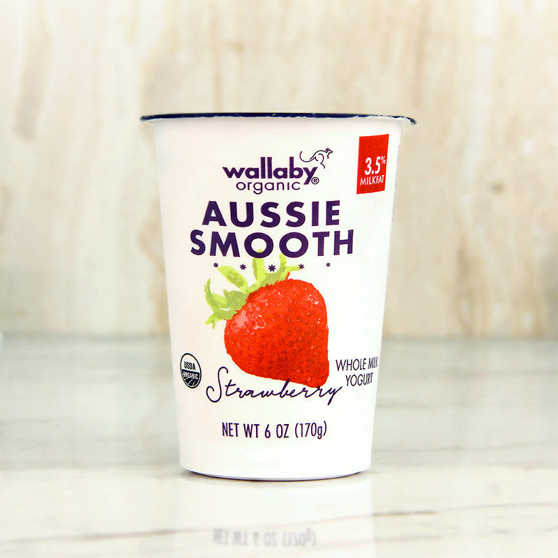 Wallaby Organic Yogurt Whole Strawberry