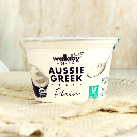 Wallaby Organic Greek Yogurt Lowfat Plain