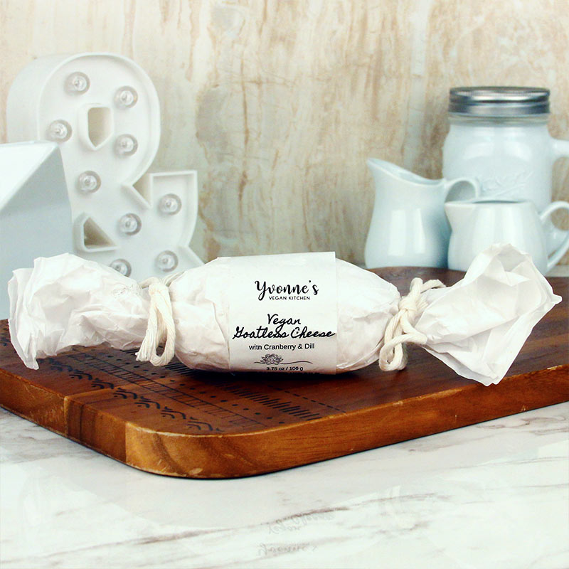 Yvonne's Vegan Kitchen Goatless Cheese 4 oz