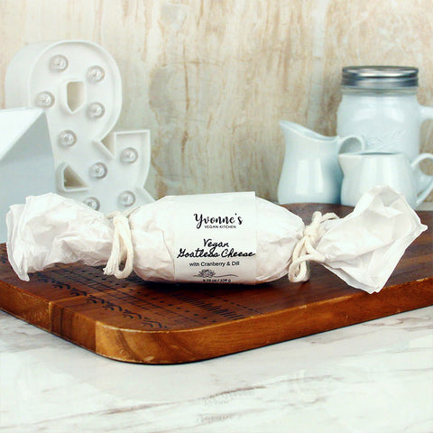 Yvonne's Vegan Kitchen Goatless Cheese