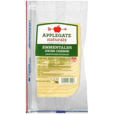 Applegate Naturals Cheese Emmentaler Swiss