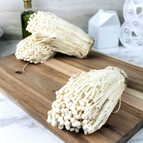 Mushroom Enoki - Milk and Eggs