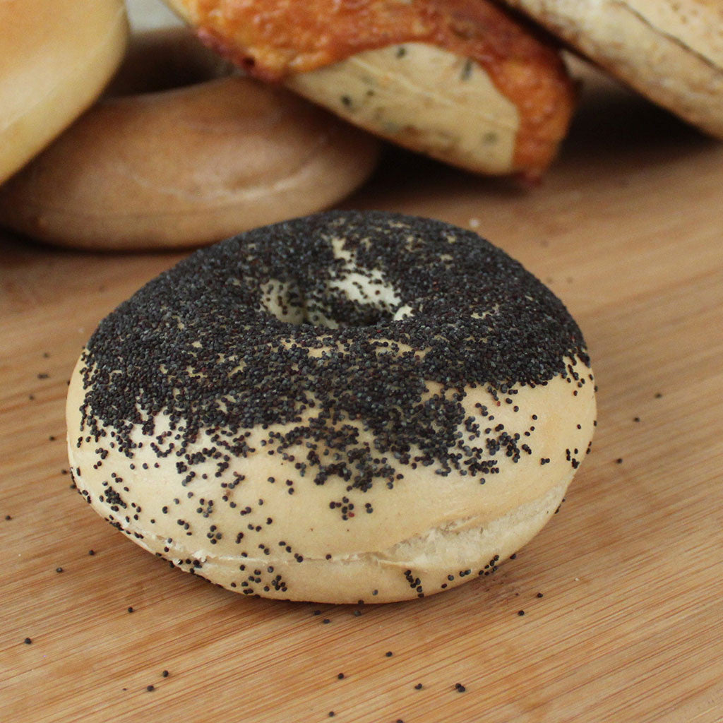 Bagel Poppy Seed - 6ct - Milk and Eggs - 1
