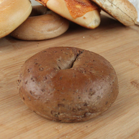 Bagel Pumpernickel  4 oz - 6ct - Milk and Eggs - 1