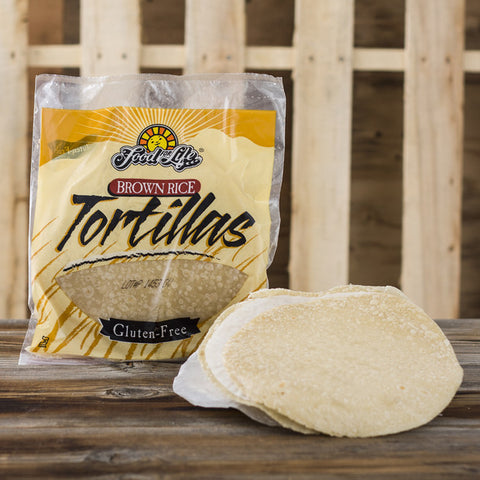 Brown Rice Tortillas - Milk and Eggs