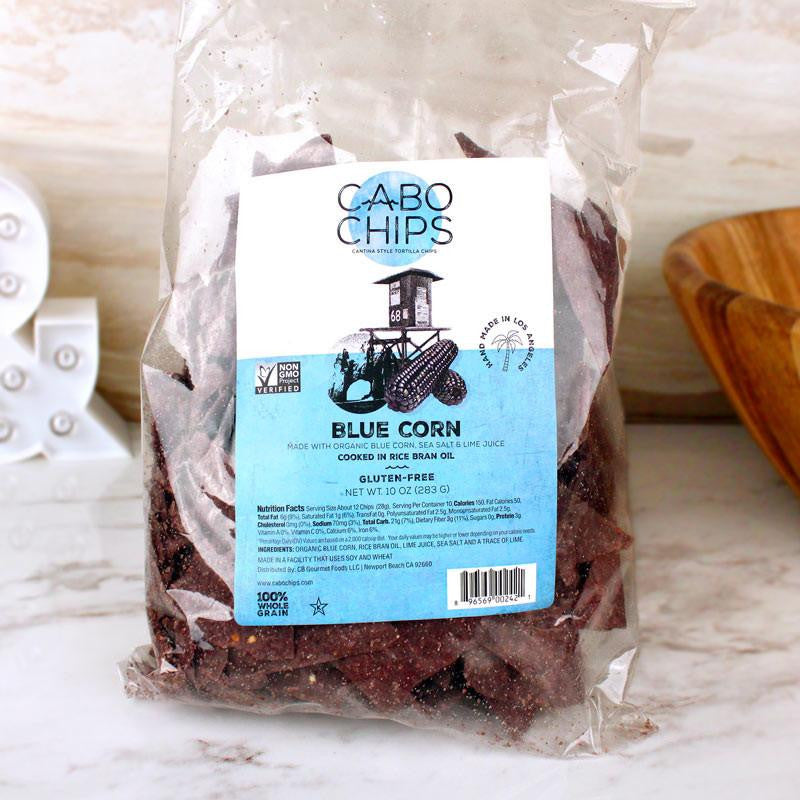 Baked Goods - Cabo Chips Tortilla Chips Blue Corn