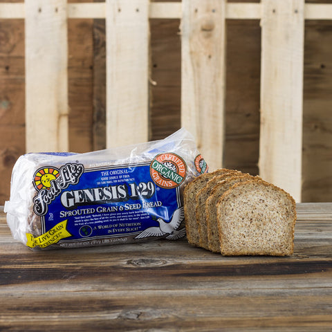 Genesis 1:29 Sprouted Grain and Seed Bread - Milk and Eggs