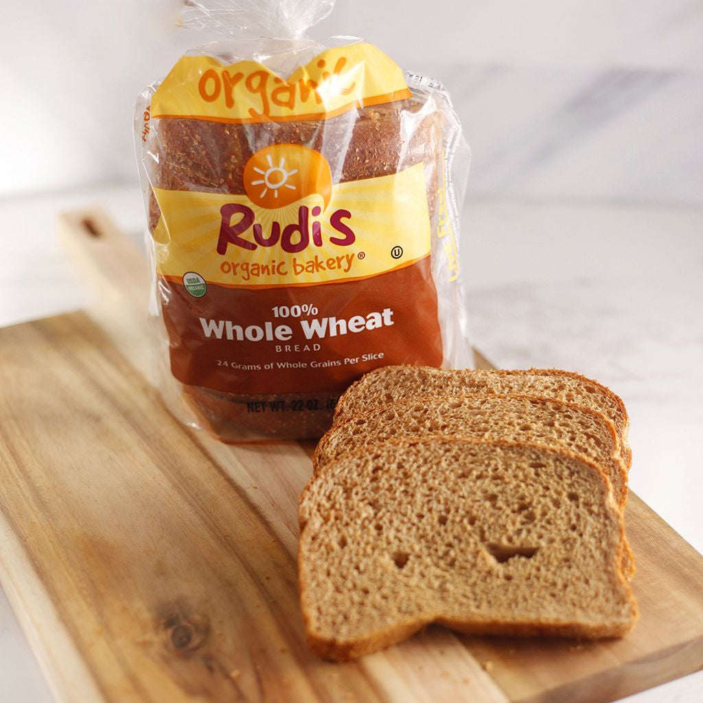 Rudi's Bread 100% Whole Wheat - Milk and Eggs