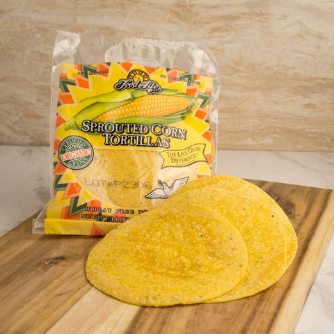 Sprouted Corn Tortillas - Milk and Eggs
