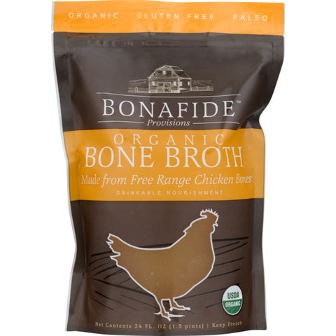 Bonafide Provisions Organic Bone Broth Chicken 24 oz