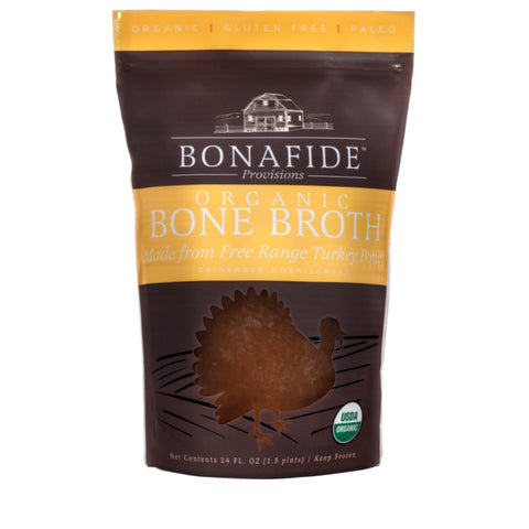 Bonafide Provisions Organic Bone Broth Turkey 24 oz