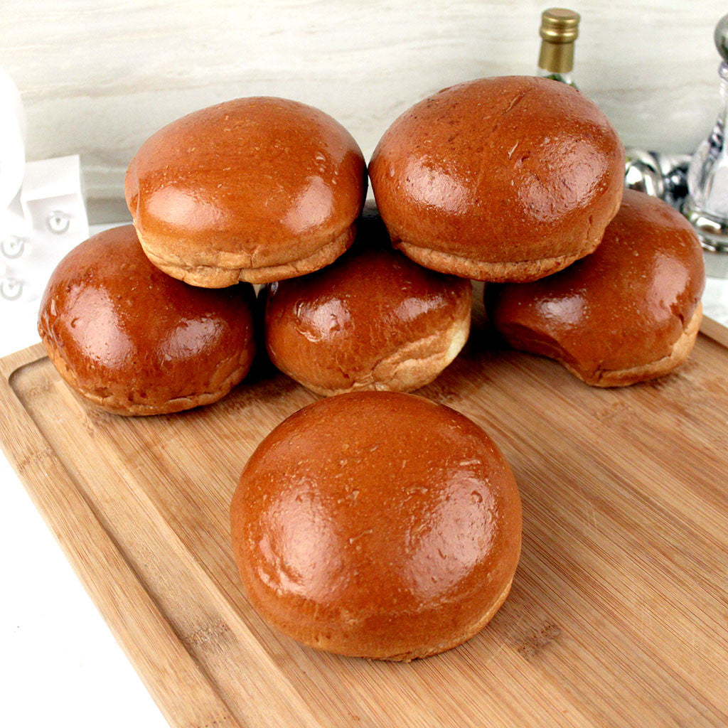 Bread LA Brioche Buns 6ct Bag - Milk and Eggs